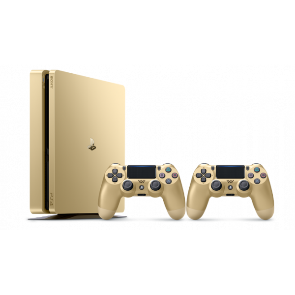 PS719848561 PS4 Slim 500GB Gold + DS4