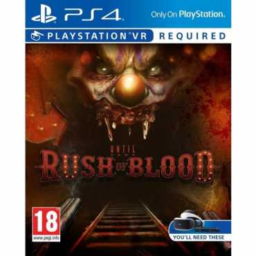 Until Dawn: Rush Of Blood VR PS4