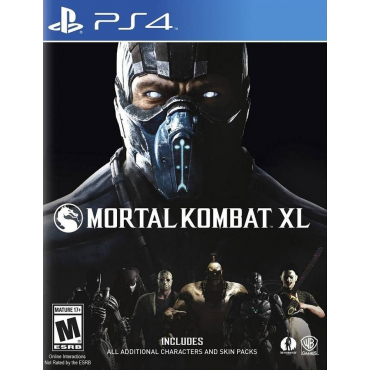 Игра для Sony Mortal Kombat XL PS4