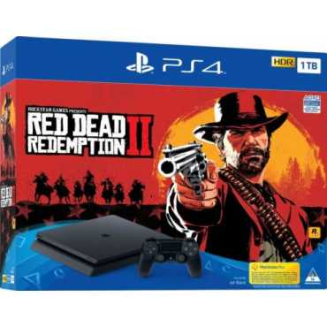 PS719760016 PlayStation 4 slim 1 ТБ + Red Dead Redemption 2