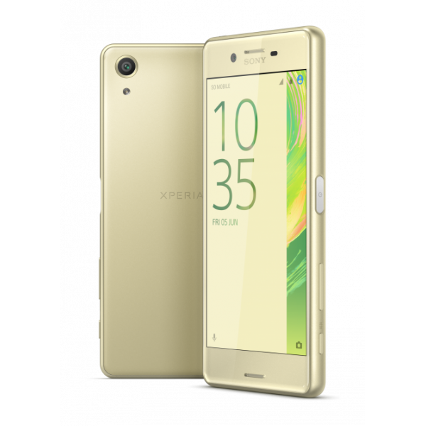 Xperia X performance F8131RU/Y, золотой лайм