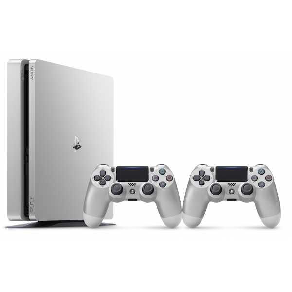 PS719849360 PS4 Slim 500GB Silver + DS4