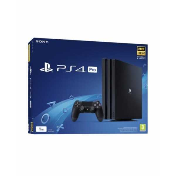 PS719773412 PS4 Pro 1TB GammaChassis Black/RUS