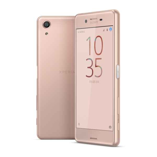 Xperia X performance F8131RU/R, розовое золото