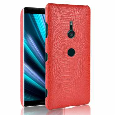 XZ3-LEATHERSHELL-RED