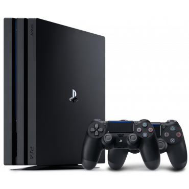 Игровая приставка Sony PlayStation 4 Pro 1TB Black + Dualshock