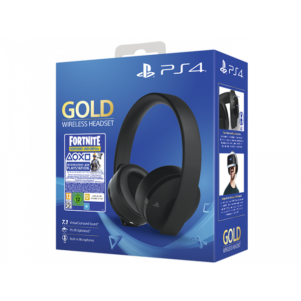 PS719960201 Fortnite VCH (2019)/Gold Headset/RUS